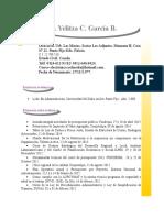 Curriculum Yelitza Nuevo