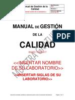 Muestra Manual Gestion Calidad ISO IEC 17025 2017