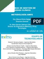 Sistema-gestión Riesgo Clínico - Amfe