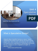 Speculative Design 1