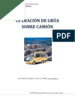 Operación de Grúa Sobre Camión Manual