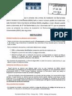 Instrucións da CIUG sobre a ABAU en Galicia 2018