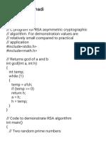 program C++ RSA