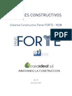 CASAIDEAL Detalles Constructivos Panel FORTE
