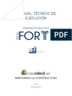 Casaideal Manual Tecnico Panel Forte