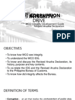 Philippines Customs Integrity
