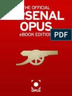 Official Arsenal Opus, The - Arsene Wenger