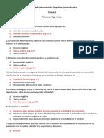 TEMA 3 TÇcnicas de Intervenci¢n Cognitivo Conductuales  P Y R