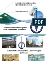 Trabajo Social en Pacientes Con Cancer