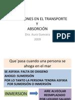 Alteraciones en El Transporte y Absorcion
