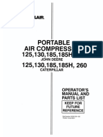 sullair 185 cfm compressor operation maintenance parts list rh scribd com sullair 185 parts diagram sullair 185 jd parts manual