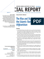 SR395 the Rise and Stall of the Islamic State in Afghanistan