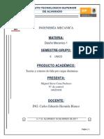 Teorías y criterios de falla por cargas dinámicas
