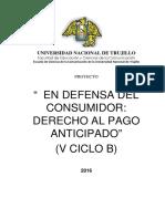 Proyecto Derecho Al Consumidor Final.