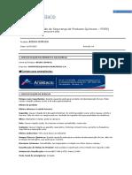 Fispq - Ghs - Produto - Acido Citrico