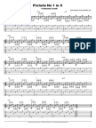 Prelude No 1 in c Tab