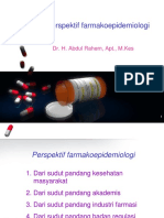 Perspektif farmakoepid