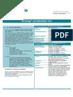 460 Stopaq - Product Data Sheet - Stopaq Outerwrap Pvc - Version April 2009 (Uk)