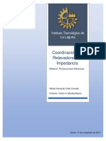 Coordinación de Relevadores de Impedancia