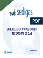 Seguridad Instalaciones GAS