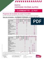 Le Puy Langeac Clermont