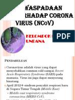 Corona Virus Ikakom Jadi Presentasi