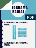 Elementos de Programa Radial