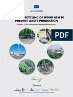 Regular Recycling of Wood Ash to Prevent Waste Production