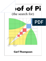 The Search for a Proof of Pi - Volume 1