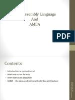ARM Assembly Language and AMBA