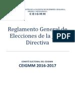 Nuevo Reglamento Comite Electoral Ceceigmm