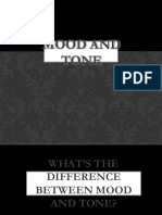 Differentiating Between Mood and Tone