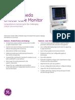 Monitor de Signos Vitales Datex-Ohmeda FCU8