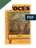 Voces 17 -  Misión para el tercer milenio II
