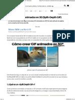 Cómo Crear GIF Animados en 3D (Split-Depth GIF) _ Emezeta