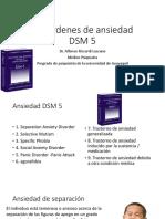 Desordenes de Ansiedad DSM 5