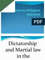 Introduction to Philippine Literature (1)