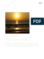 An Atom of Praise Upon the Infinitely Praised2