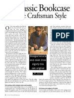 A Classic Bookcase in the Craftsman Style