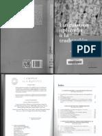 Lingüística Aplicada a La Traducción - López, Veyrat