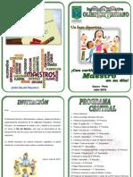 Programa Día Del Maestro