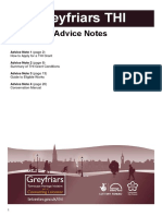 Advice Notes Greyfriars Thi