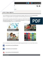 Www Cambridgeenglish Org in Learning English