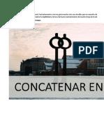 Función Concatenar en Excel