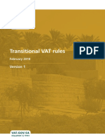 VAT Transitional Rules English