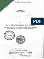 Asoka D R Bhandarkar