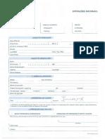 Formulário TRF NAC