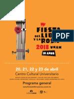 Programa_general Libro y La Rosa
