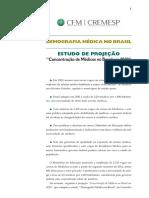 ESTUDO de PROJEC_A_O _Concentrac_a_o de Me_dicos No Brasil Em 2020