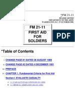 FM 21-11 First Aid